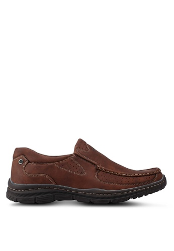 Louis Cuppers brown Slip On Loafer 32A5ESHEE8FCE5GS_1