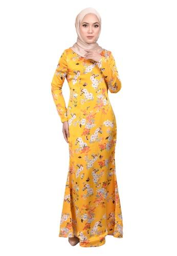 FATIMÉ multi Dress Clover (Yellow) 2C92EAA90090DEGS_1