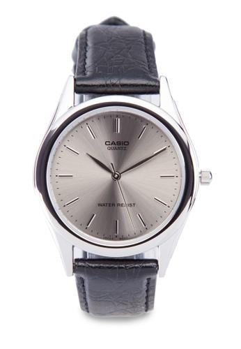MTP-1093E-8ARDF  行針仿esprit手錶專櫃皮圓錶, 錶類, 飾品配件