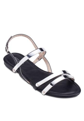 Joanie 金飾繞踝涼鞋、 女鞋、 鞋VelvetJoanie金飾繞踝涼鞋最新折價