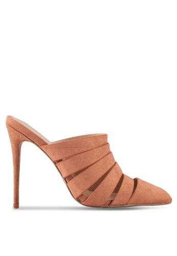 Something Borrowed beige Cut Out Mule Heels D9CCDSH33362C5GS_1