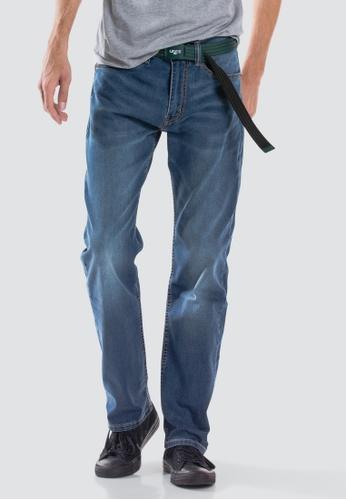 ec1cdcc9111 Levi's blue Levi's 505™ Regular Fit Performance Cool Jeans  97ACDAA771F2A2GS_1