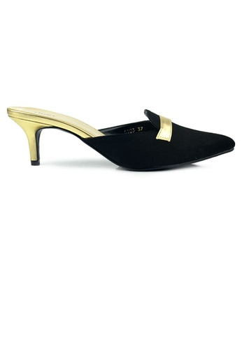 SHINE black SHINE Slip on Point Toe Heel 66E1ESH6F858DEGS_1
