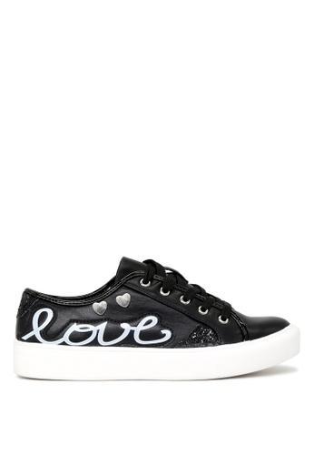 London Rag 黑色 London Rag 女士黑色休闲鞋 SH1662 F55C4SH3F1A99AGS_1