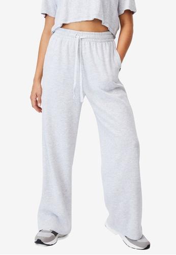 Cotton On Body grey Lifestyle Wide Leg Track Pants C9949AA13C482DGS_1