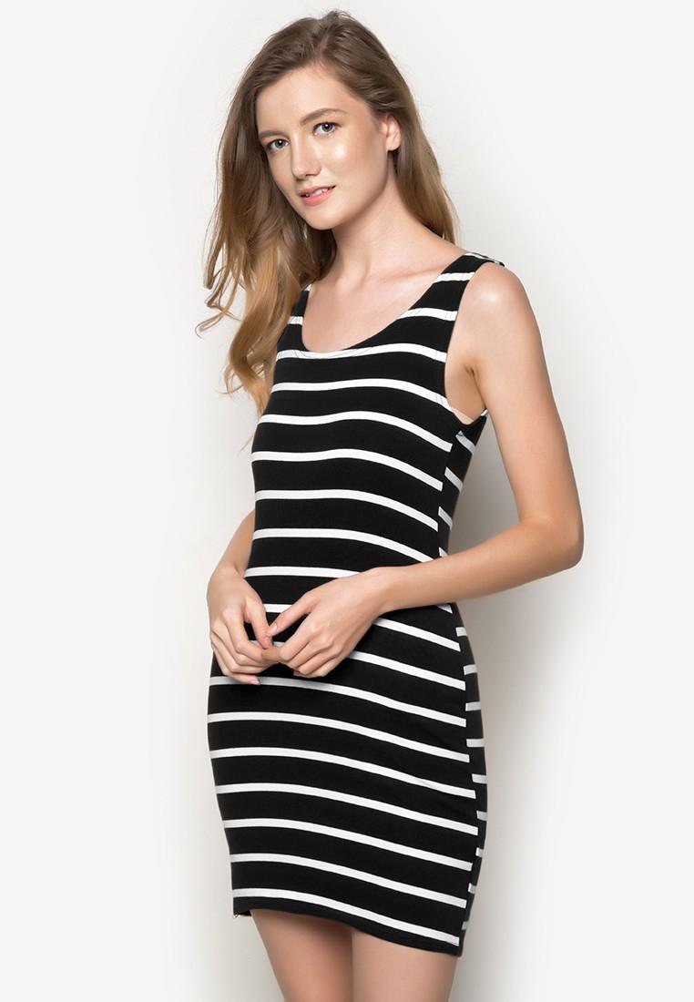 Estel Stripe Dress