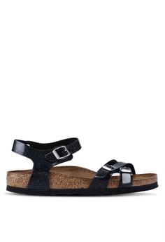 d61057a83 Birkenstock black Kumba Magic Galaxy Soft Footbed Sandals 135C8SHDBA3F5BGS 1