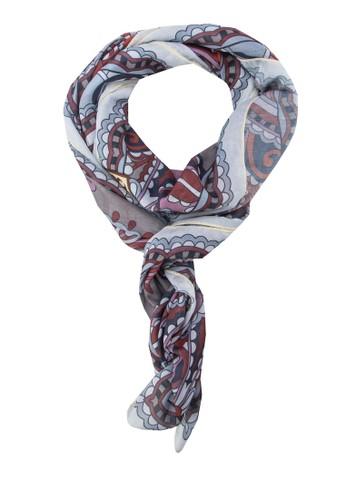 印花絲巾, 飾品esprit台灣網頁配件, 披肩