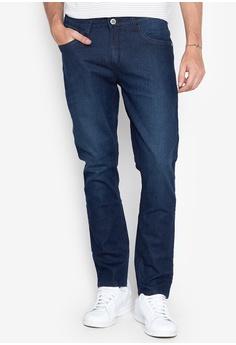 e881c991 Freego blue Basic Five Pocket Low Waist Slim Straight Jeans  2782CAA2599D1FGS_1