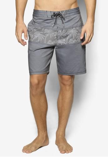 esprit門市Tribong Lo Tide 印花拼接衝浪短褲, 服飾, 運動