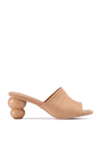 nose 褐色 Abstract Heel Slide 45F70SHD26156EGS_1