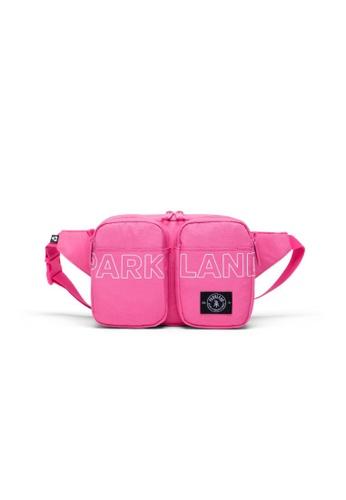 Parkland pink Parkland Fergie Hip Pack Carmine Screen - 3L 64CCCAC9C06CD7GS_1