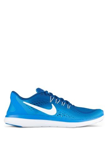 Nike blue Men's Nike Flex 2017 RN Running Shoes NI126SH0SHGOMY_1