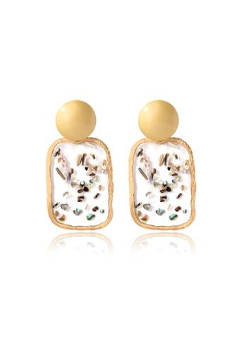 Kings Collection gold Shell Alloy earrings (KJEA20070) E0CCDACF811CE2GS_1