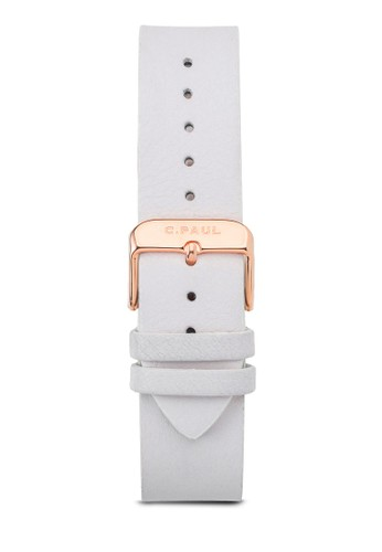 43mm 皮革錶帶, 錶類, esprit門市皮革錶帶