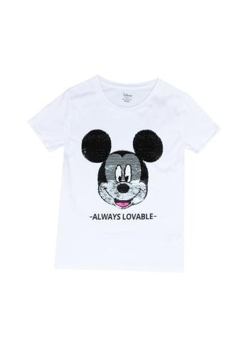 FOX Kids & Baby white Mickey Mouse Tee 2BA8AKACD4E486GS_1