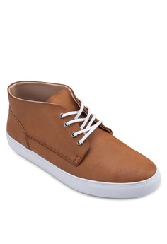 Contrast Sole Sneakers