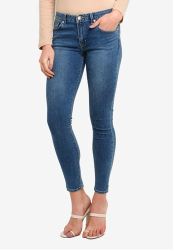 Guess blue Ankle Skinny Jeans F5ED8AAA705785GS_1