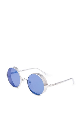Privé Revaux silver The Cameron Sunglasses C7A03GLE731465GS_1