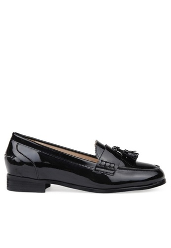 SPUR black Tassel penny loafer 02708SH9DF0524GS_1