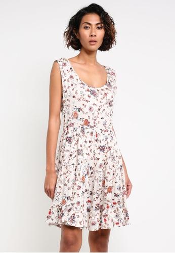 Glamorous white Printed Dress GL059AA0RL33MY_1