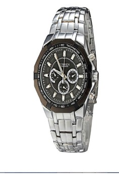 Curren 8084 Stainless Steel Dial Men's Watch