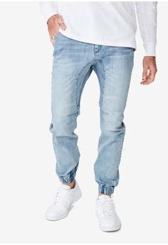 817e9f40fd4 Cotton On blue Slim Denim Joggers 668FCAA6BC5343GS 1