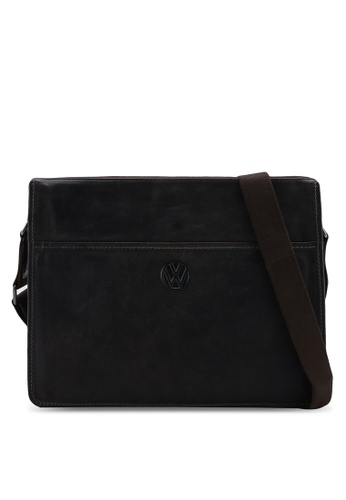 Volkswagen brown Leather Flat Bag D1257AC9463AB8GS_1
