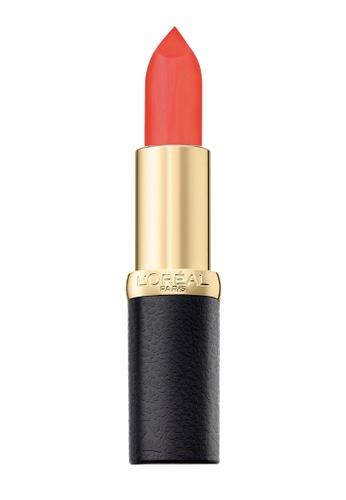 L'Oréal Paris red L'Oreal Paris Color Riche Matte 233 Rouge-A-Porter 9EF1DBE2971B1AGS_1