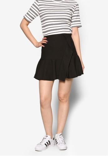 褶飾迷你短裙esprit門市, 服飾, 裙子