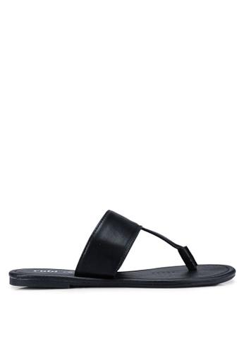 Rubi 黑色 Everyday Minimal 涼鞋 C7F60SH06AD3EDGS_1