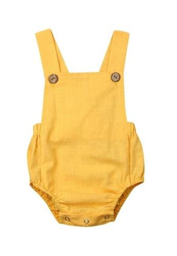 RAISING LITTLE yellow Jone Romper - Yellow 6514DKA9E71DFCGS_1