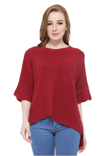 Knitwork KNITWORK Red Batwing 57280AA9DBCAA6GS_1