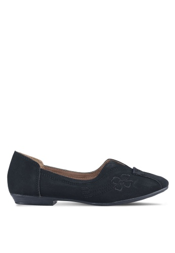 Louis Cuppers black Luois Cuppers Flats LO977SH0S9T1MY_1