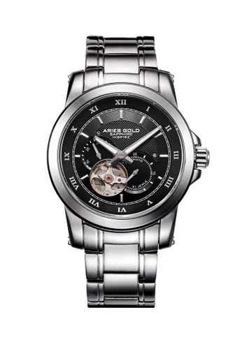 Aries Gold silver Aries Gold Infinum Forza Silver Watch 8A09CACA90EA02GS_1