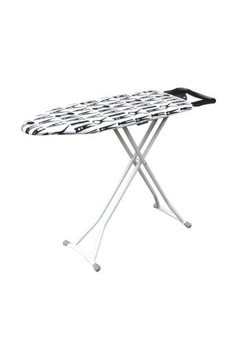 HOUZE HOUZE - FOREVER - Black & White Ironing Board (Dim: 114 x 30.5cm) 21729HLB951E28GS_1