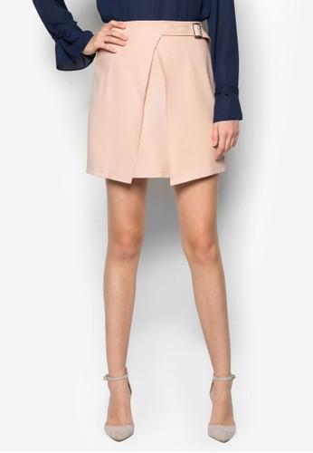 Gemma 素zalora 男鞋 評價色裹式短裙, 服飾, 服飾