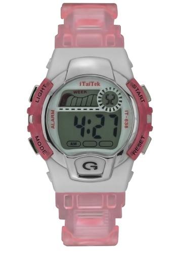 4c73202ac19 Shop Dooka Itaitek kiddie digital sport wrist watch it-636 Online on ZALORA  Philippines