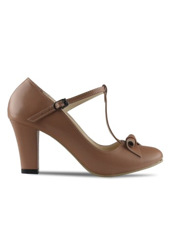 CLAYMORE brown Claymore sepatu high heels B 709T - Moca CL635SH42MJLID_1