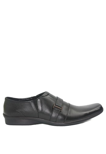 Dr. Kevin black Dr. Kevin Men Dress & Bussiness Formal Shoes 13396 - Black F621DSHEF24275GS_1