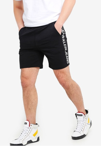 on sale aa89a 9b2a7 A-Side Institution Shorts - Calvin Klein Jeans