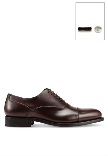 MANGO Man brown Leather Oxford Shoes 201CBSH166FF6DGS_1