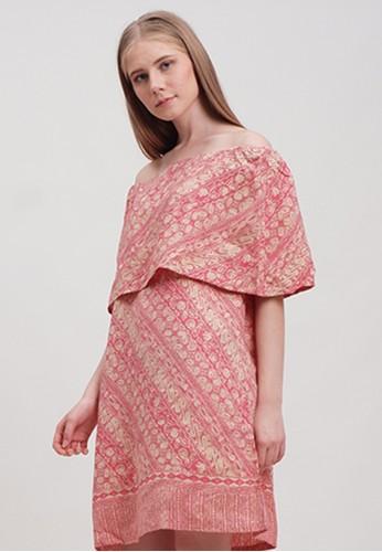 Kayen pink Sabrina Dress EA339AA16238BFGS_1