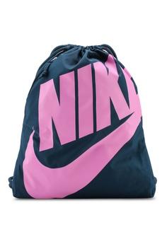 3d5215c041500 Nike green Nike Heritage Gym Sack F377EAC5B81B68GS_1