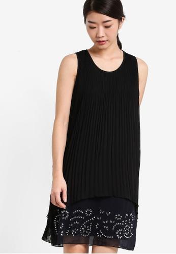Desigual black Besalu Shift Dress DE160AA95GEYMY_1