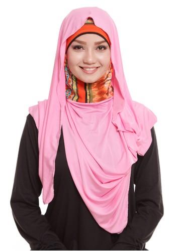 Mybamus Riggai Ethnic Ciput Pashmina Pink