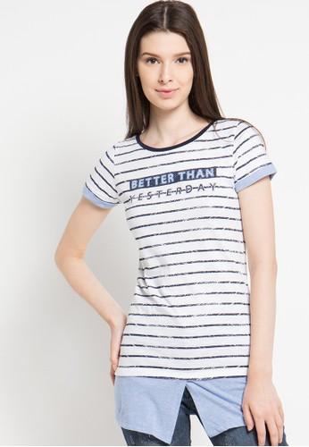Cressida Ladies white Mock Tee Shirt CR653AA48JSXID_1
