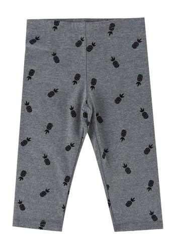 FOX Kids & Baby grey Kids Girls Printed Jersey Leggings 8934AKA72170F0GS_1