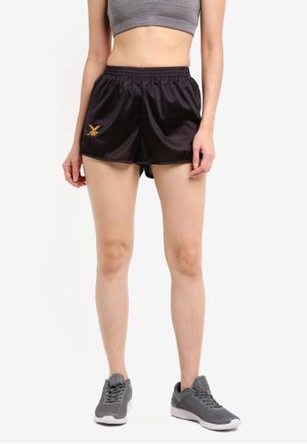 FBT black Running Shorts Straight Cut A5296AAF86ADA9GS_1