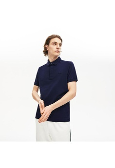 4d6ad50325 Lacoste blue MEN'S LACOSTE PARIS POLO SHIRT REGULAR FIT STRETCH COTTON PIQUÉ  - PH5522 F852EAAB61EFFEGS_1